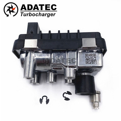Turbo Electric Actuator G-67 G-067 G67 800089 electronic wastegate 767649 6NW009550 for Land Rover Range Rover 4.4 L TDV8 AJD V8